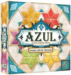 Azul Pabellón de Verano - Juegos de mesa de Azul de azulejos - Los mejores juegos de mesa de estrategia de Azul