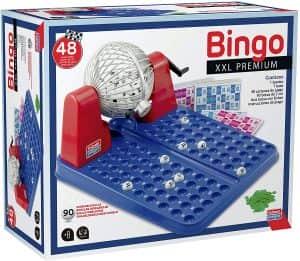 Bingo 1-90 XXL Premium - Juegos de mesa de Bingo - Los mejores bingos