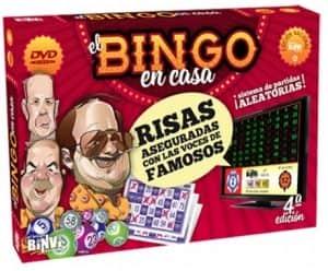 Bingo en Casa DVD - Juegos de mesa de Bingo - Los mejores bingos
