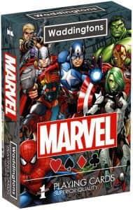 Cartas de Poker de Marvel - Juegos de mesa de Marvel - Los mejores juegos de mesa de los Vengadores de Marvel