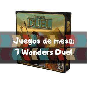 Comprar 7 Wonders Duel - Juegos de mesa de 7 Wonders Duel de 2 Jugadores