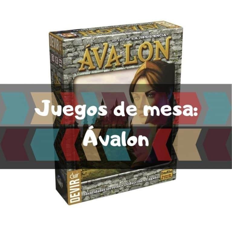 Juego de mesa: La resistencia de Ávalon