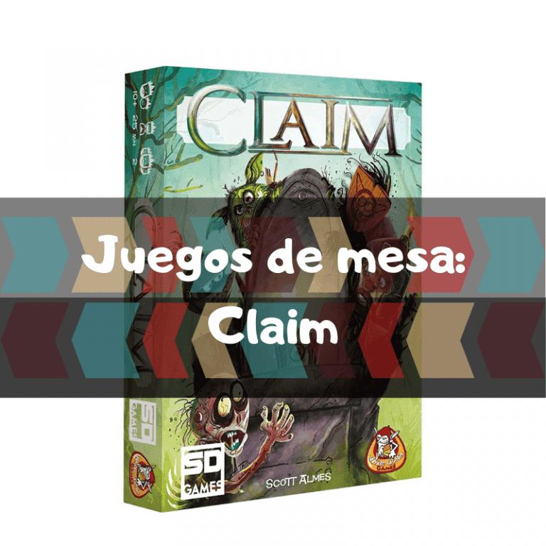 Los mejores juegos de mesa de Claim