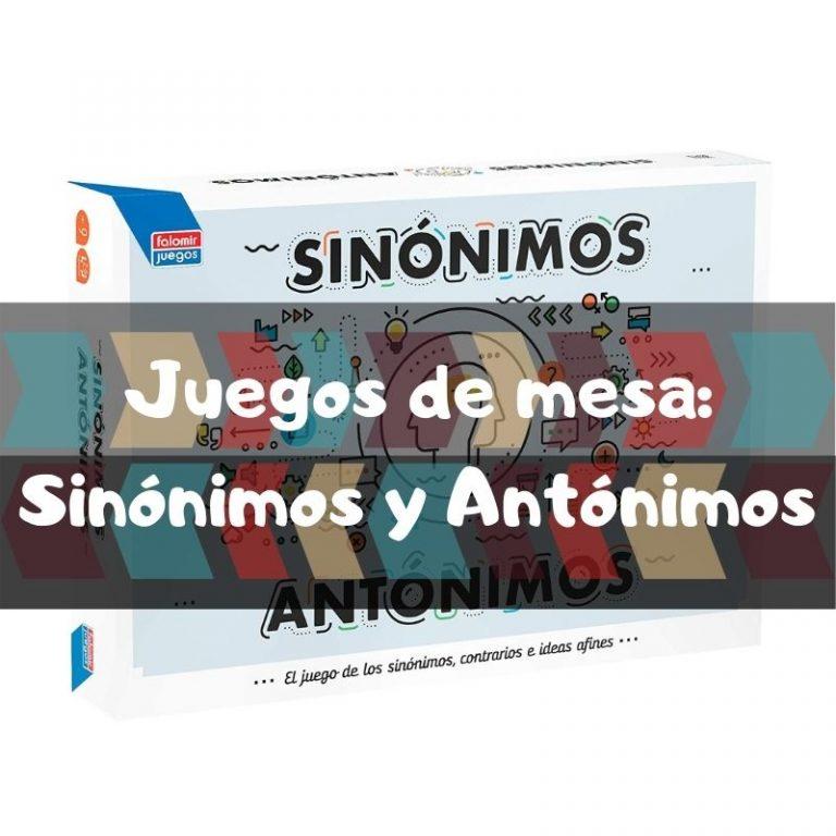 Comprar Sinónimos y Antónimos