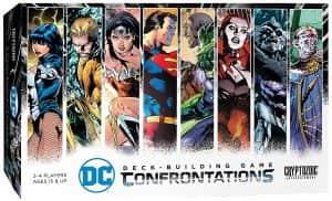Confrontations de DC en inglés - Juegos de mesa de Batman de DC - Los mejores juegos de mesa de Batman de DC