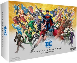 Deck Building Game Multiverse Box de DC en inglés - Juegos de mesa de Batman de DC - Los mejores juegos de mesa de Batman de DC