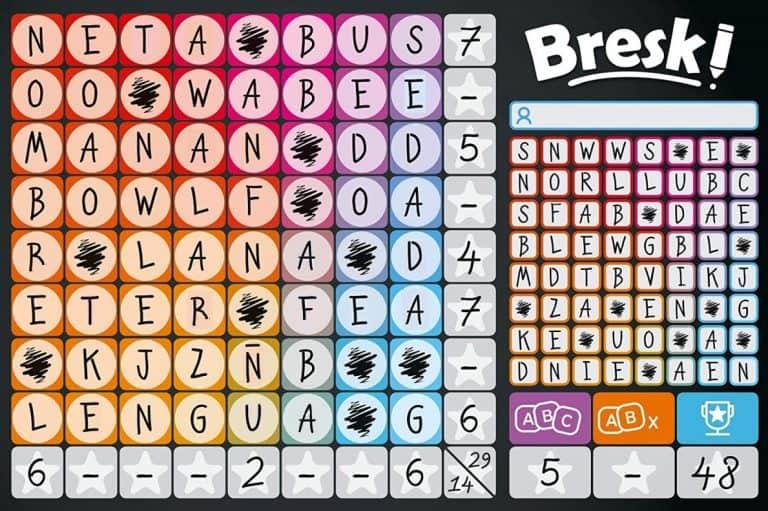 Ejemplo de Bresk - Juegos de mesa de Bresk - Los mejores juegos de mesa Bresk