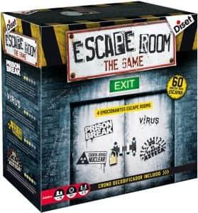 Escape Room the Game 1 - Juegos de mesa de Escape Room - Los mejores juegos de mesa de Diset de Escape Room