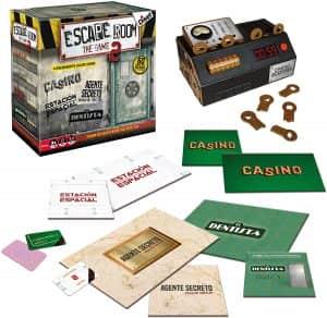 Escape Room the Game 2 - Juegos de mesa de Escape Room - Los mejores juegos de mesa de Diset de Escape Room