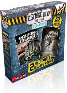 Escape Room the Game Edición 2 jugadores - Juegos de mesa de Escape Room - Los mejores juegos de mesa de Diset de Escape Room