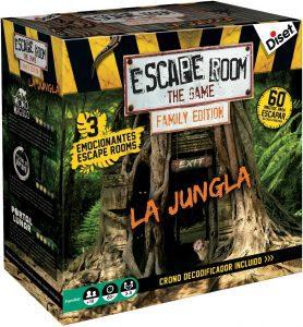 Escape Room the Game Edición Familiar - Juegos de mesa de Escape Room - Los mejores juegos de mesa de Diset de Escape Room