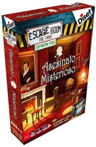 Escape Room the Game Expansión Asesinato Misterioso - Expansión de Juegos de mesa de Escape Room - Los mejores juegos de mesa de Diset de Escape Room