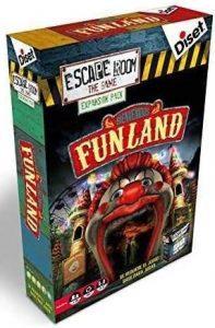 Escape Room the Game Expansión Funland - Expansión de Juegos de mesa de Escape Room - Los mejores juegos de mesa de Diset de Escape Room