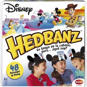 Hedbanz Disney - Juegos de mesa de Adivina el personaje - Los mejores juegos de mesa de Hedbanz
