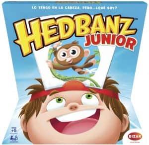 Hedbanz Junior - Juegos de mesa de Adivina el personaje - Los mejores juegos de mesa de Hedbanz