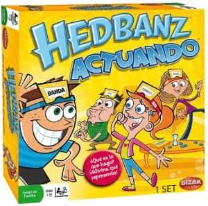 Hedbanz actuando - Juegos de mesa de Adivina el personaje - Los mejores juegos de mesa de Hedbanz