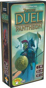 Juego de mesa de 7 Wonders Duel Expansión Pantheon - Juegos de mesa de 2 jugadores - Los mejores juegos de mesa de 1 vs 1
