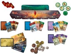 Juego de mesa de 7 Wonders Duel - Juegos de mesa de 2 jugadores - Los mejores juegos de mesa de 1 vs 1