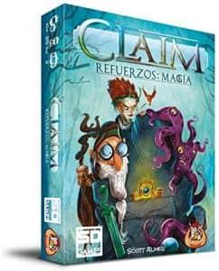 Juego de mesa de Claim Refuerzos Magia - Juegos de mesa de 2 jugadores - Los mejores juegos de mesa de 1 vs 1