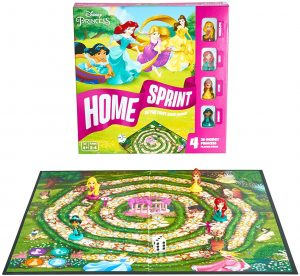 Juego de mesa de Home Sprint princesas de Disney - Juegos de mesa de Disney - Los mejores juegos de mesa de Disney