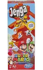 Juego de mesa de Jenga de Super Mario Bros 2 - Juegos de mesa de Super Mario - Los mejores juegos de mesa de Mario Bros