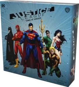 Juego de mesa de Justice League Dawn of Heroes - Juegos de mesa de Batman de DC - Los mejores juegos de mesa de Batman de DC