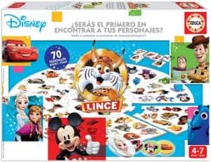Juego de mesa de Lince de Disney - Juegos de mesa de Disney - Los mejores juegos de mesa de Disney