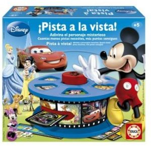 Juego de mesa de Pista A La Vista de Disney - Juegos de mesa de Disney - Los mejores juegos de mesa de Disney