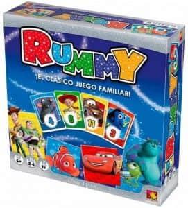 Juego de mesa de Rummy de Disney - Juegos de mesa de Disney - Los mejores juegos de mesa de Disney