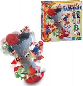 Juego de mesa de Shaky Tower de Super Mario Bros - Juegos de mesa de Super Mario - Los mejores juegos de mesa de Mario Bros