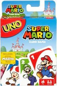 Juego de mesa de UNO de Super Mario Bros - Juegos de mesa de Super Mario - Los mejores juegos de mesa de Mario Bros