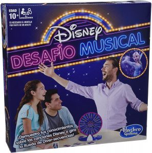 Juego de mesa de desafío musical de Disney - Juegos de mesa de Disney - Los mejores juegos de mesa de Disney