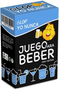 Juego para beber Glop Yo Nunca - Juegos de mesa para beber - Los mejores juegos de mesa de adultos y risas para beber