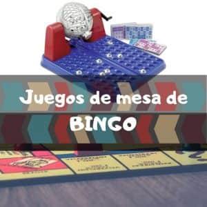 Juegos de mesa de BINGO - Los mejores BINGOS