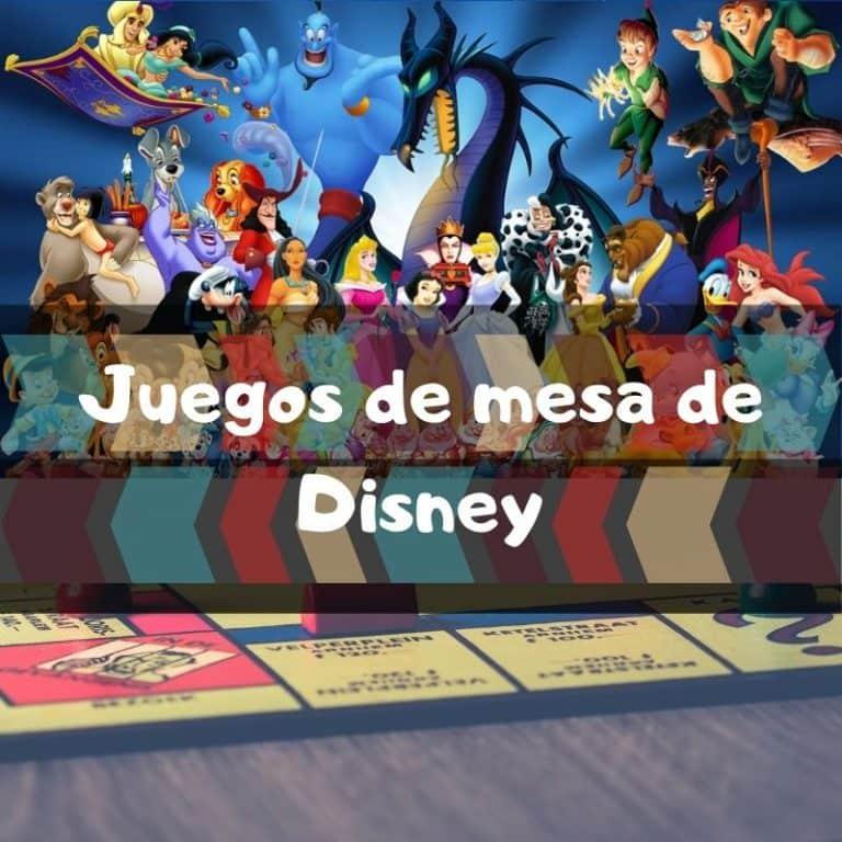 Los mejores juegos de mesa de Disney