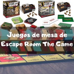 Juegos de mesa de Escape Room the Game - Los mejores juegos de mesa de Escape Room de Diset de escape e investigación