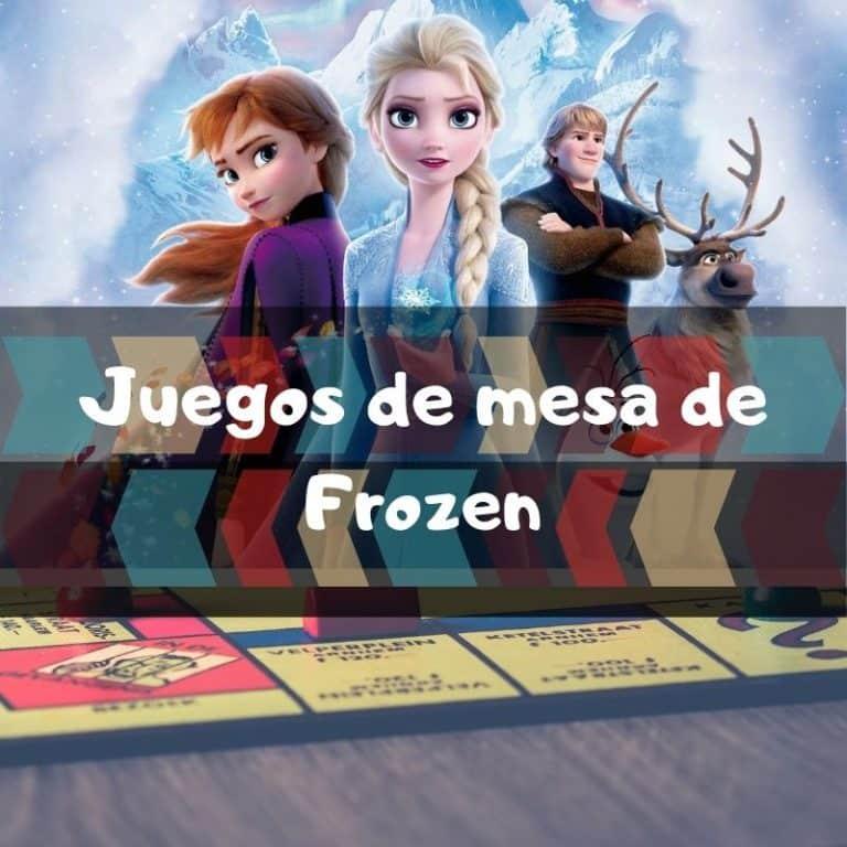 Los mejores juegos de mesa de Frozen 2