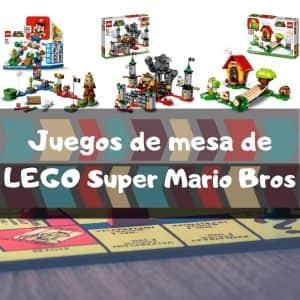 Juegos de mesa de LEGO de Super Mario Bros - Los mejores juegos de LEGO de Mario Bros
