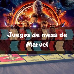 Juegos de mesa de Marvel - Los mejores juegos de mesa de los Vengadores de Marvel