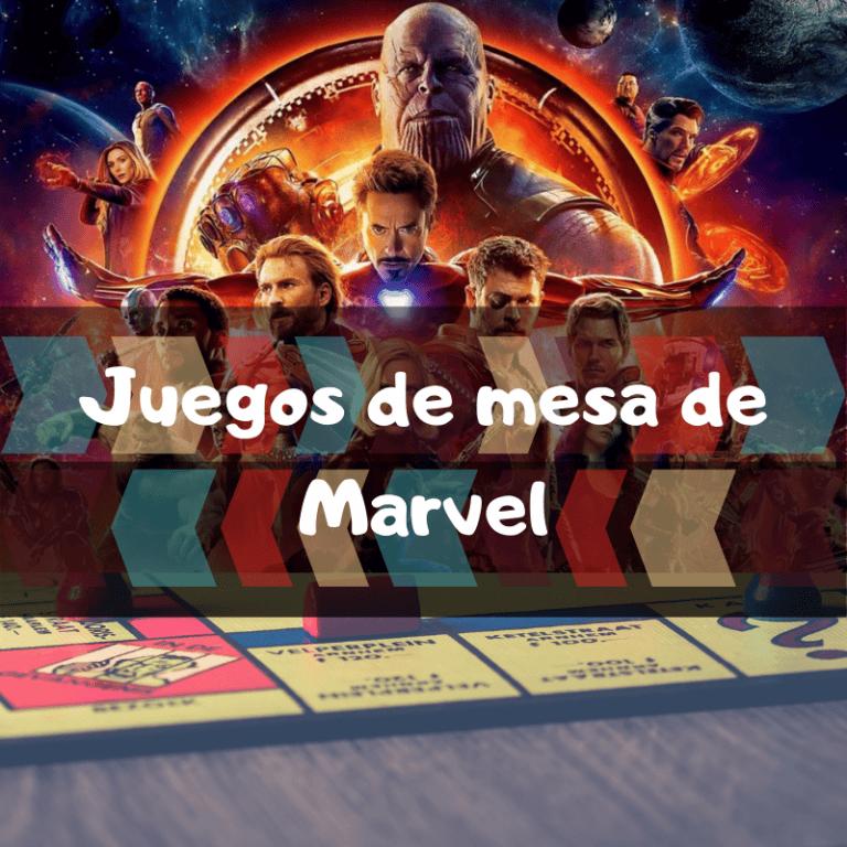 Los mejores juegos de mesa de Marvel de los Vengadores