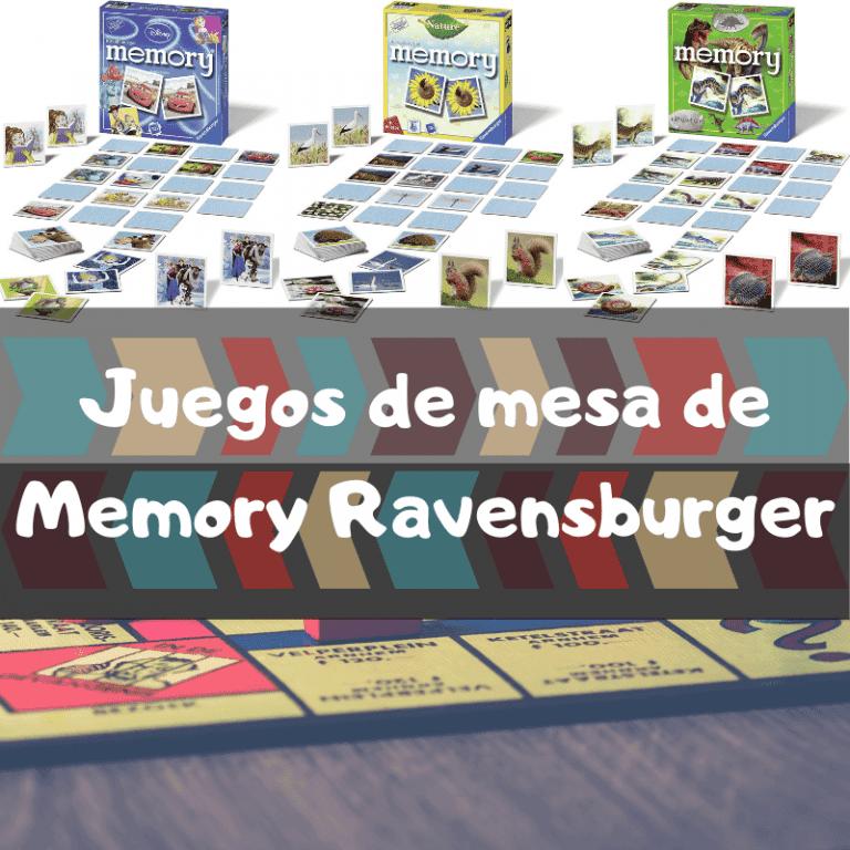 Los mejores juegos de mesa de Memory de Ravensburger