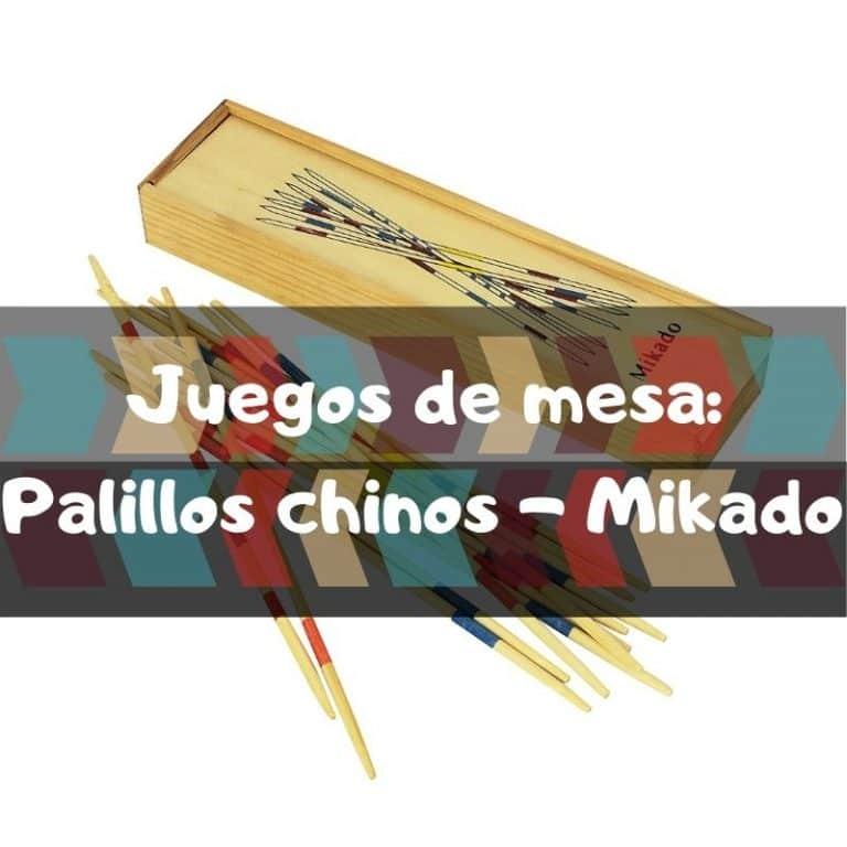 Juego de mesa: Palitos chinos – Mikado