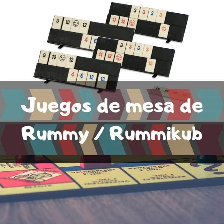 Los mejores juegos de mesa de Rummy/Rummikub