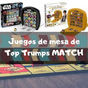 Juegos de mesa de Top Trumps Match - Los mejores juegos de mesa de 5 en raya de Top Trumps Match de cubes crazy