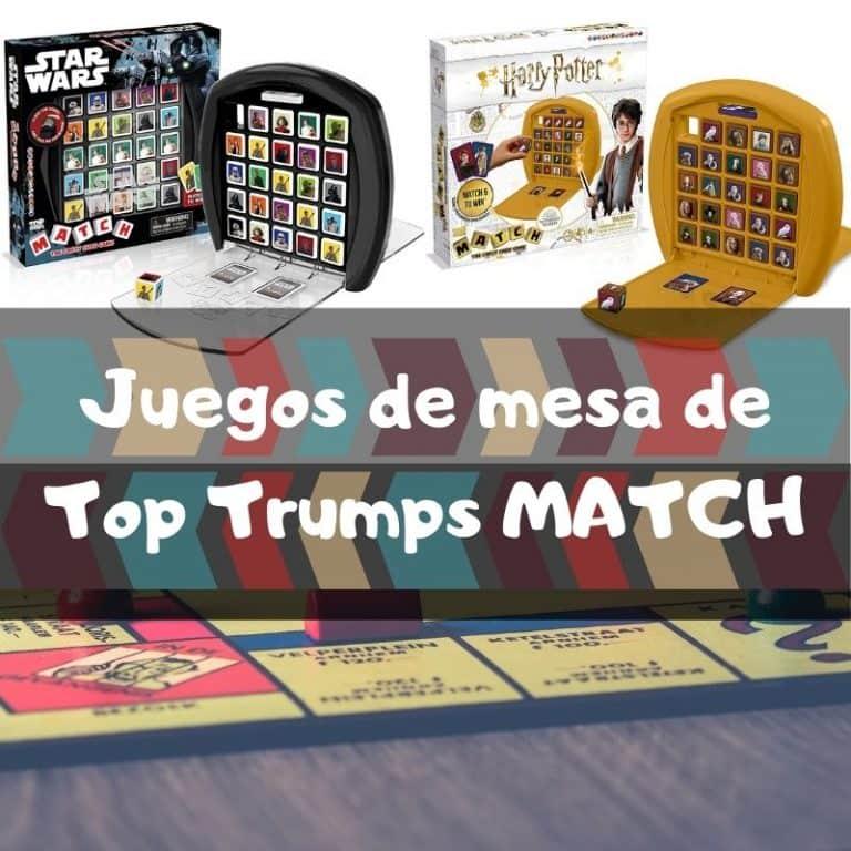 Los mejores juegos de mesa de Top Trumps Match
