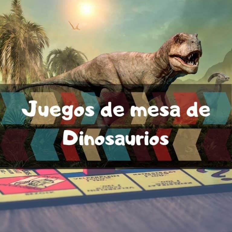 Los mejores juegos de mesa de dinosaurios