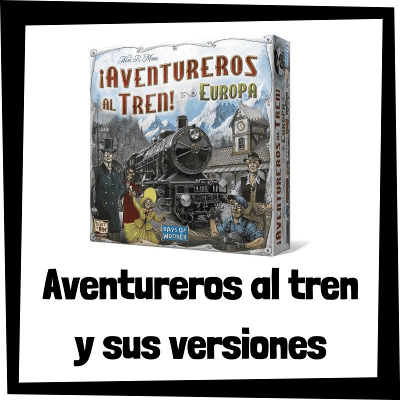 Los mejores juegos de mesa de Aventureros al tren - Juegos de mesa populares
