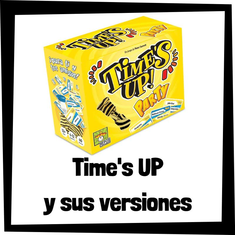 Los mejores juegos de mesa de Time's UP - Juegos de mesa populares