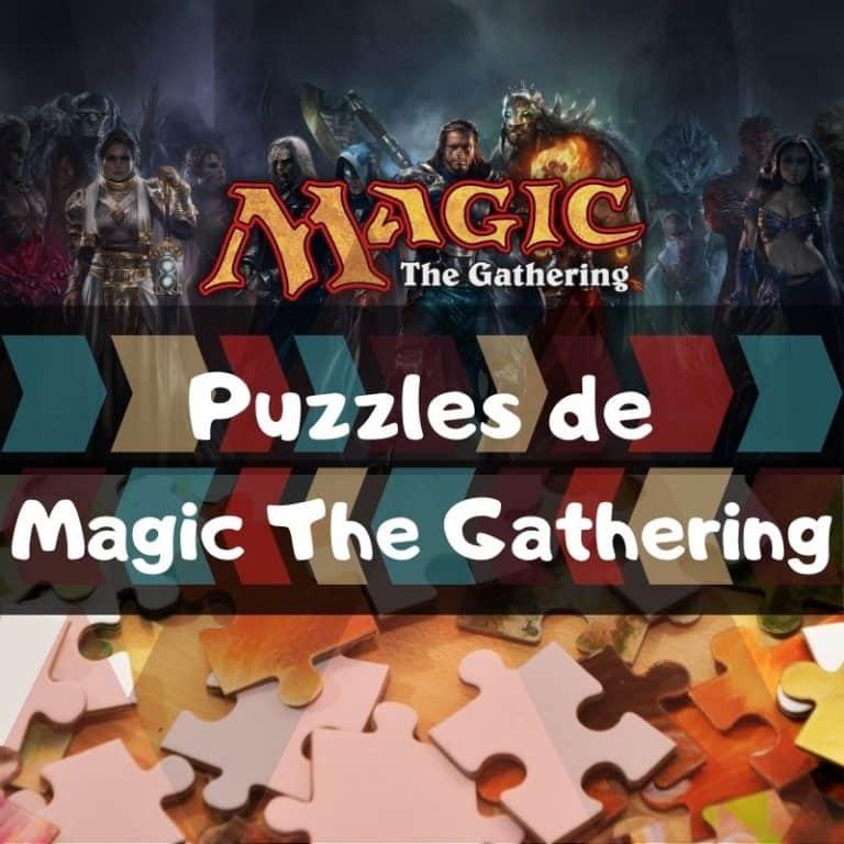 Los mejores puzzles de Magic The Gathering