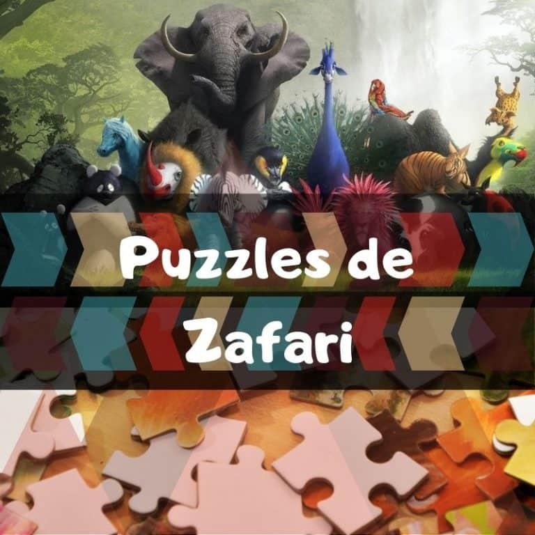 Los mejores puzzles de Zafari